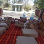 picnic lunch on safaris