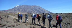 mt kilimanjaro climbing in tanzania, africa