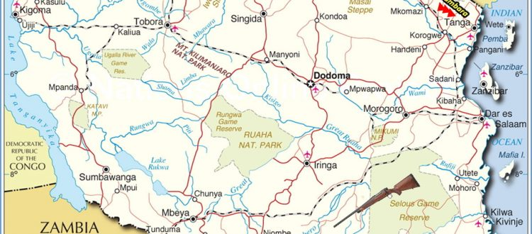 tanzania-tourist-activities-map